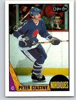 1987-88 O-Pee-Chee #21 Peter Stastny Nordiques Mint