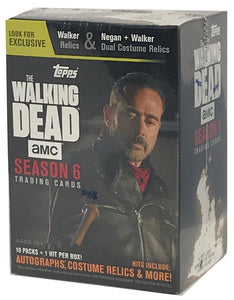 (HCW) 2017 Topps The Walking Dead Season 6 Negan AMC Sealed BOX - 1 Auto/Relic