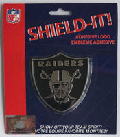 Oakland Raiders Adhesive Logo Emblem for Car, Fridge, Mirror etc.