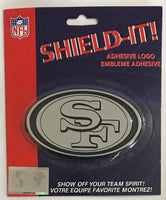 San Francisco 49ers Adhesive Logo Emblem for Car, Fridge, Mirror etc.
