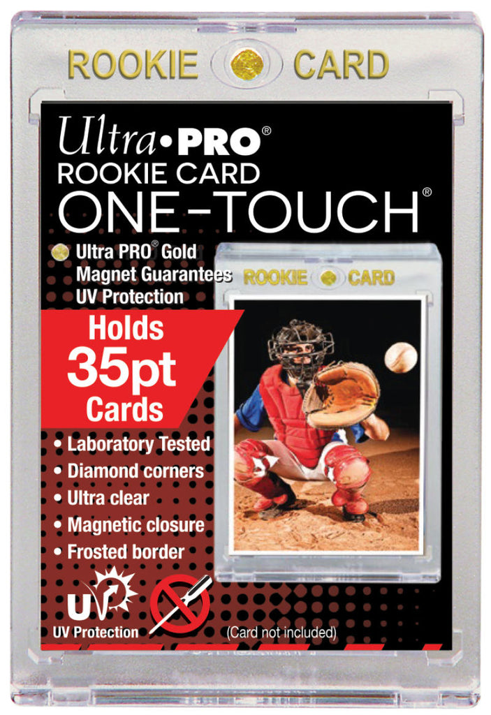 Ultra Pro 1Touch 35pt Rookie UV Magnetic Holder One Touch Upper Deck & Panini