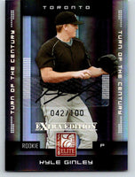 (HCW) 2008 Donruss Elite Extra Edition Signature Kyle Ginley Auto 42/100 03517