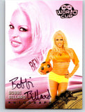 (HCW) 2014 Bench Warmer Soccer World Cup Autographs Bobbi Billard 03565