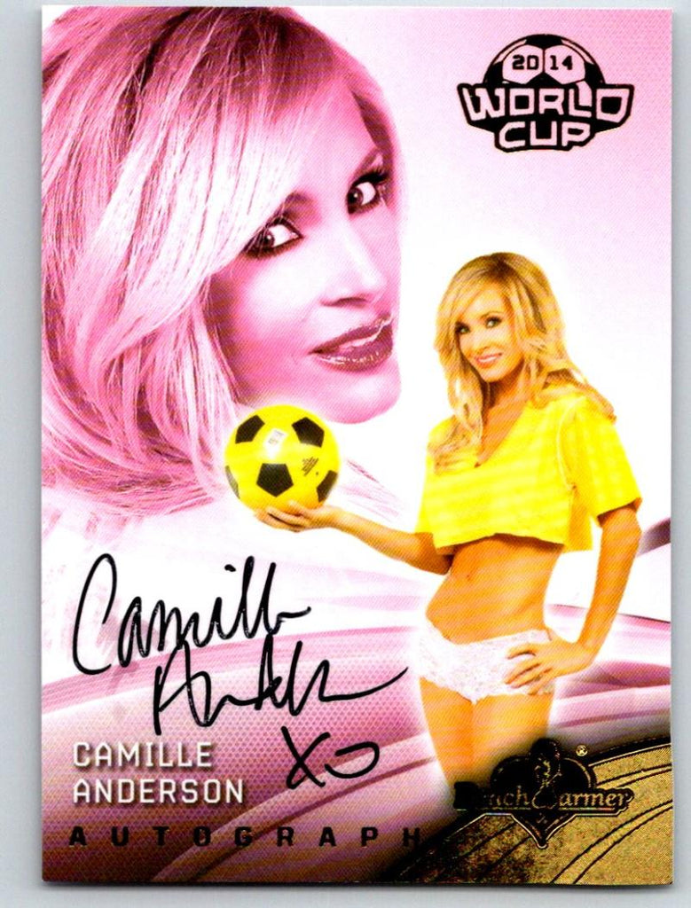 (HCW) 2014 Bench Warmer Soccer World Cup Autographs Camille Anderson 03568