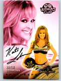 (HCW) 2014 Bench Warmer Soccer World Cup Autographs Katie Lohmann 03584