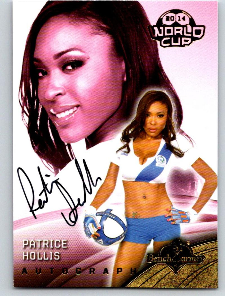 (HCW) 2014 Bench Warmer Soccer World Cup Autographs Patrice Hollis 03585