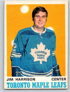1970-71 O-Pee-Chee #220 Jim Harrison NM-MT Hockey NHL RC Rookie Maple Leafs 03668