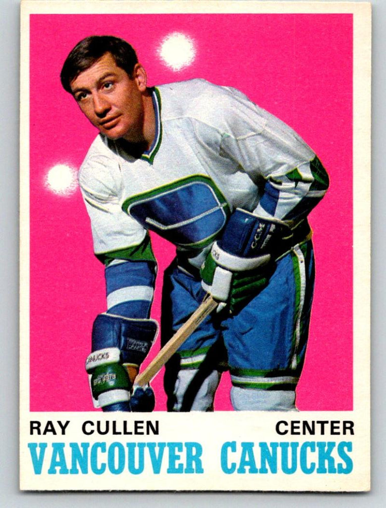 1970-71 O-Pee-Chee #228 Ray Cullen NM+ Hockey NHL Canucks 03669