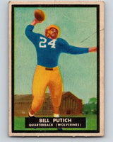1951 Topps Magic #47 Bill Putich  Football NFL Vintage Card 03758