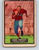 1951 Topps Magic #62 John Dottley  Football NFL Vintage Card 03760