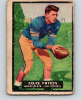 1951 Topps Magic #18 Bruce Patton Football NFL Vintage Card 03761