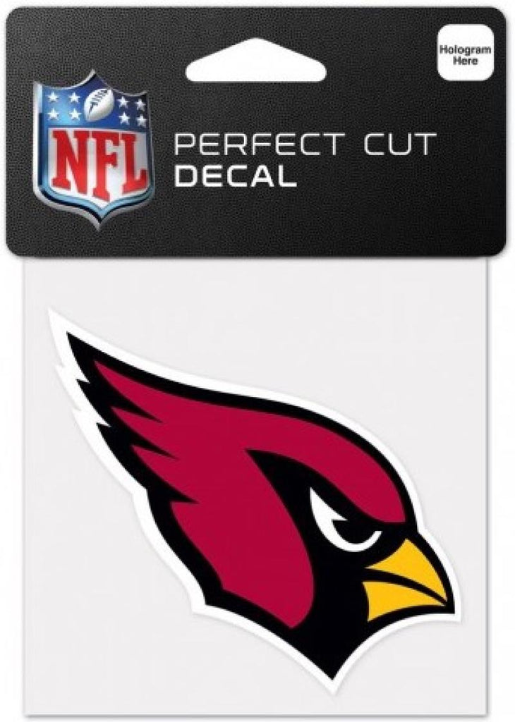 "Arizona Cardinals Perfect Cut Colour 4""x4"" NFL Licensed Decal Sticker"