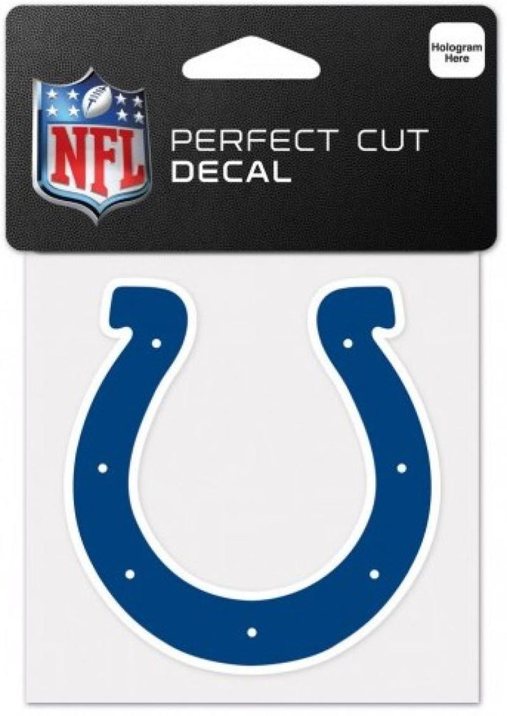 "Indianapolis Colts Perfect Cut Colour 4""x4"" NFL Licensed Decal Sticker"