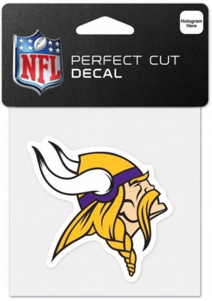 "Minnesota Vikings Perfect Cut Colour 4""x4"" NFL Licensed Decal Sticker"