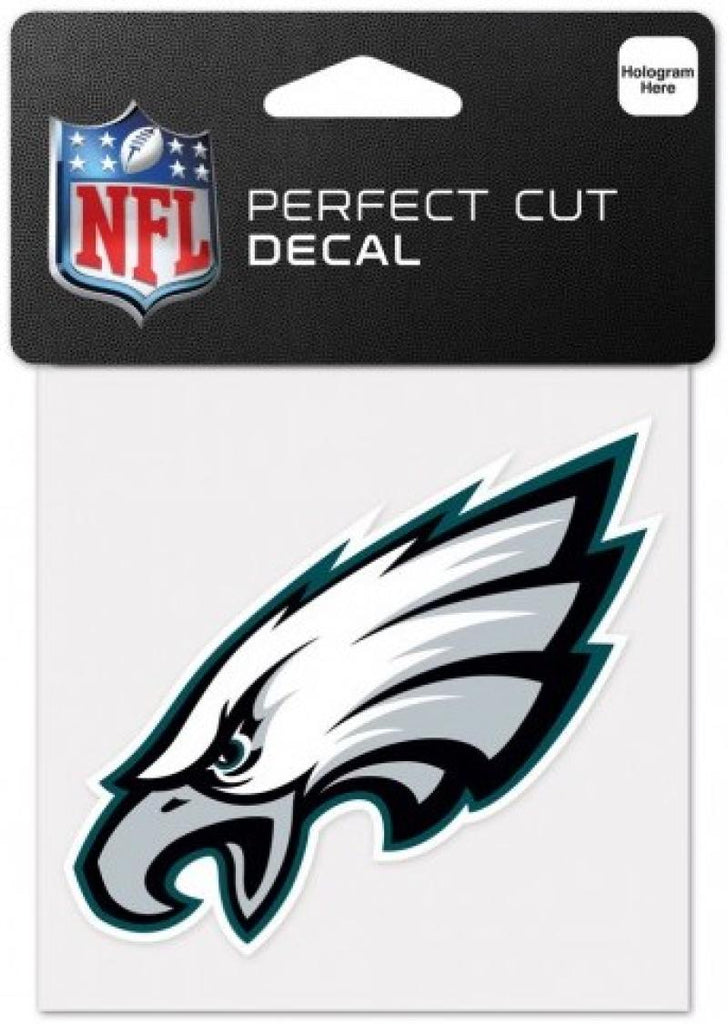 "Philadelphia Eagles Perfect Cut Colour 4""x4"" NFL Licensed Decal Sticker"