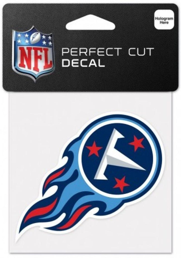 "Tennessee Titans Perfect Cut Colour 4""x4"" NFL Licensed Decal Sticker"