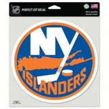 "(HCW) New York Islanders Perfect Cut 8""x8"" Large Licensed Decal Sticker"