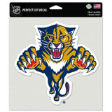 "Florida Panthers #2 Perfect Cut 8""x8"" Large Licensed Decal Sticker"
