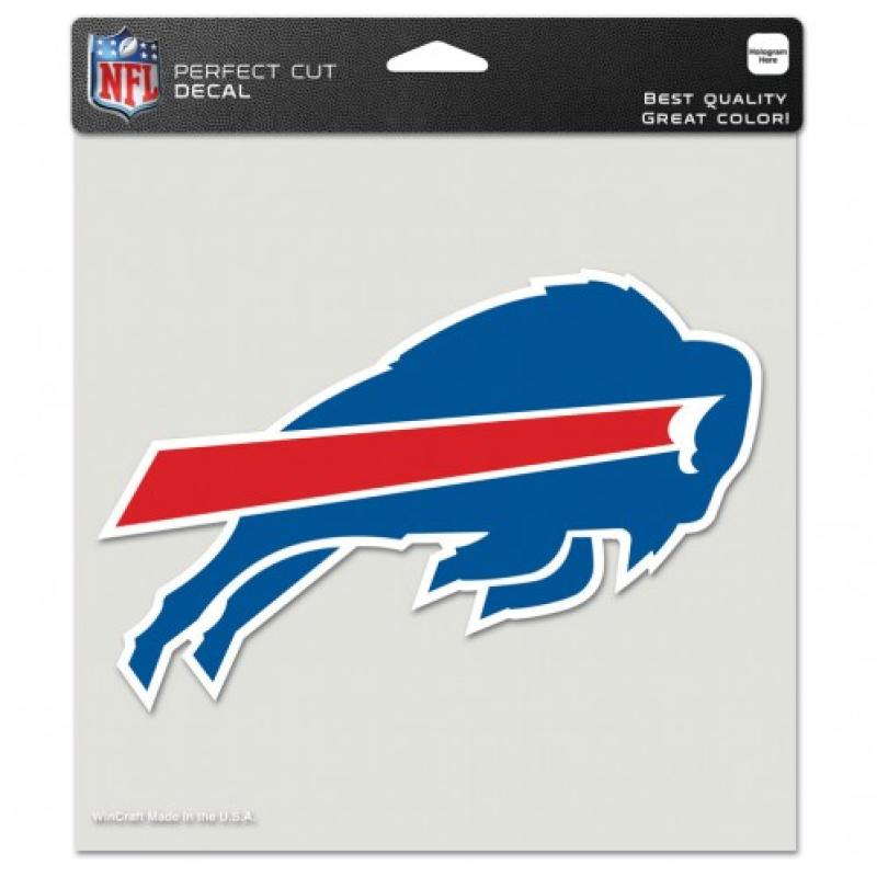 "Buffalo Bills Perfect Cut 8""x8"" Large Licensed NFL Decal Sticker"