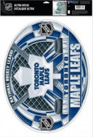 Toronto Maple Leafs Multi-Use Stained Glass Decal 11