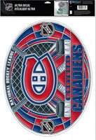Montreal Canadiens Multi-Use Stained Glass Decal 11
