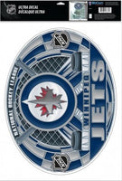 Winnipeg Jets Multi-Use Stained Glass Decal 11