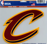 "Cleveland Cavaliers Multi-Use Decal Sticker NBA 5""x6"" Basketball"