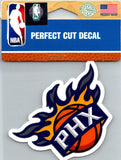 "(HCW) Phoenix Suns Perfect Cut Colour 4""x4"" NBA Licensed Decal Sticker"