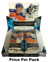 2015-16 Upper Deck SPX Hobby Pack - McDavid, Larkin, Domi & More