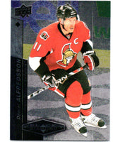 2010-11 Upper Deck Black Diamond #9 Daniel Alfredsson Senators Hockey