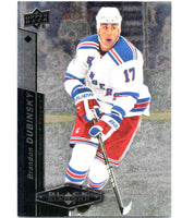 2010-11 Upper Deck Black Diamond #19 Brandon Dubinsky NY Rangers Hockey