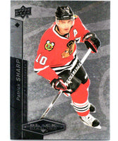 2010-11 Upper Deck Black Diamond #21 Patrick Sharp Blackhawks Hockey