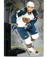 2010-11 Upper Deck Black Diamond #29 Evander Kane Thrashers Hockey