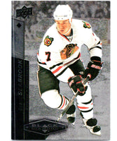 2010-11 Upper Deck Black Diamond #35 Brent Seabrook Blackhawks Hockey