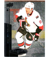 2010-11 Upper Deck Black Diamond #54 Milan Michalek Senators Hockey