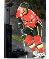 2010-11 Upper Deck Black Diamond #62 Rene Bourque Flames Hockey