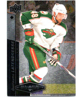 2010-11 Upper Deck Black Diamond #69 Guillaume Latendresse Wild Hockey