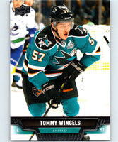 2013-14 Upper Deck #186 Tommy Wingels Sharks NHL Hockey