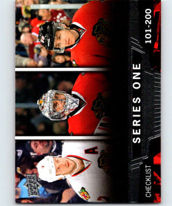 2013-14 Upper Deck #200 Brent Seabrook/Corey Crawford/Patrick Kane Blackhawks CL NHL Hockey