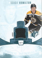 2013-14 Upper Deck SPx Rookie Materials Dougie Hamilton Jersey Bruins 04181