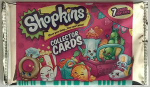 2015 Shopkins Season 3 Collector Card Pack - 1 Special Card Per Pack