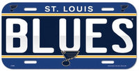 St. Louis Blues Durable Plastic Wincraft License Plate NHL 6