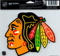 Chicago Blackhawks Multi-Use Decal Sticker 5