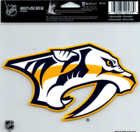 Nashville Predators Multi-Use Decal Sticker 5