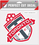 "Toronto FC Soccer Perfect Cut 8""x8"" Large Licensed Decal Sticker"