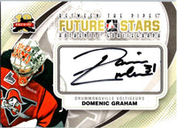 2011-12 Between The Pipes Autographs #ADG Domenic Graham 04227