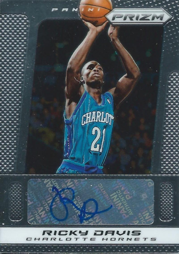 2013-14 Panini Prizm Autographs #152 Ricky Davis NM-MT Basketball NBA Auto 04243