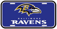 Baltimore Ravens Durable Plastic Wincraft License Plate NFL 6