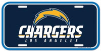 Los Angeles Chargers Durable Plastic Wincraft License Plate NHL 6