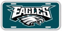 Philadelphia Eagles Durable Plastic Wincraft License Plate NFL 6